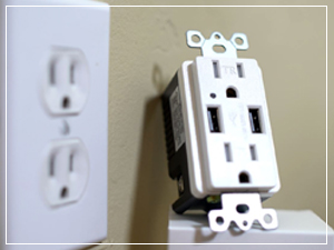 usb outlet install