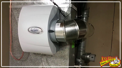 improve air quality - whole home humidifier