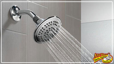 water conservation - limit water use for baths and showers