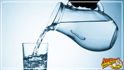 water conservation - keep drinking water in fridge
