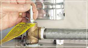 water heater maintenance - check t&p valve