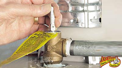 water heater - t&p valve