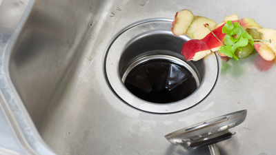 common plumbing issue - jammed garbage disposal