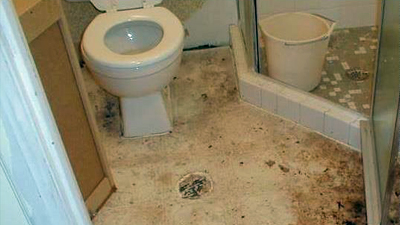 signs of sewer line issue - backups happening in multiple places