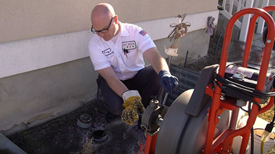 signs of sewer line issue - rootering your main line regularly