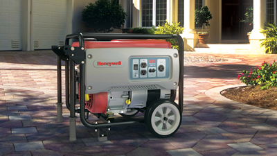 power out - portable generator
