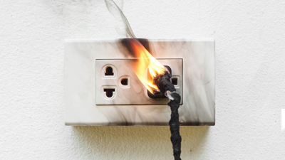 electrical issue - burning smell