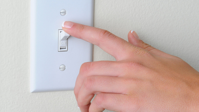 electrical issue - warm switch or outlet