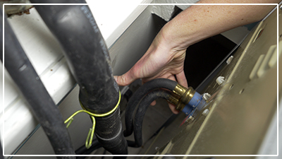 catch leaks in your home - appliances fridge, dishwasher, clothes washer