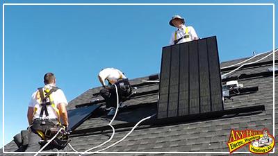 go green - install solar