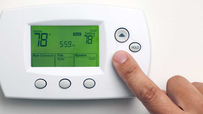 ac working properly - check thermostat