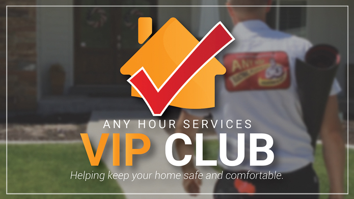 any hour services VIP club member