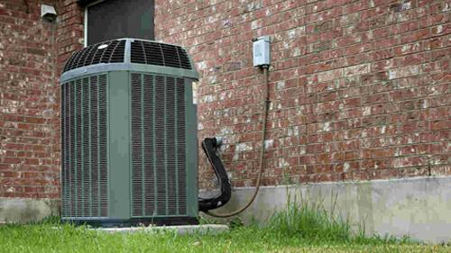spring maintenance - air conditioner unit