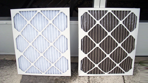 spring maintenance - check air filter