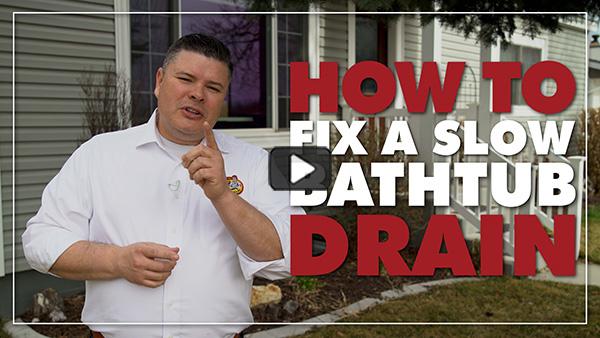 how to fix a bathtub drain