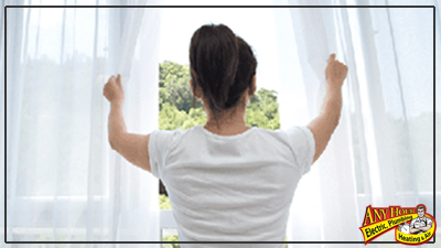 improve air quality in your home - open the windows