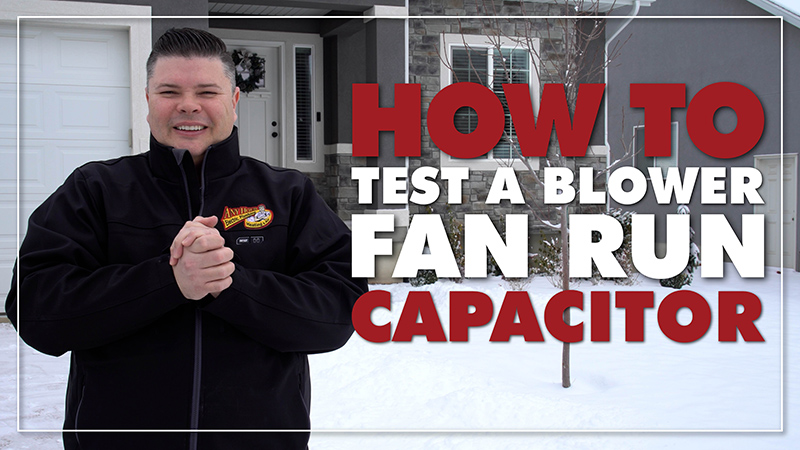 Furnace Maintenance: How to Test a Blower Fan Run Capacitor