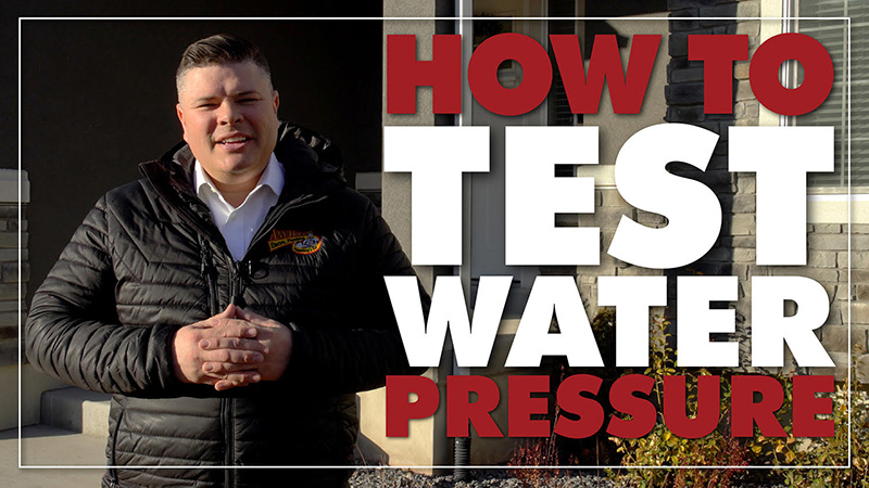 How To Test Water Pressure